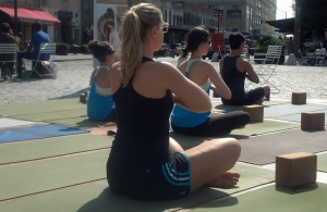 Yoga Gansevoort Plaza Meatpacking District